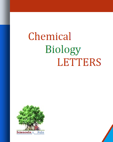 Chemical Biology Letters Journal Medicinal Chemistry