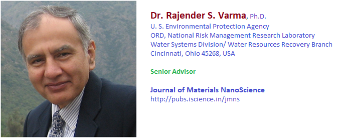 Dr RS Varma senior scientist epa