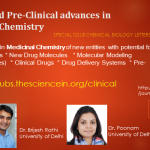 Clinical and Pre-Clinical advances in Medicinal Chemistry – Special Issue Chemical Biology Letters