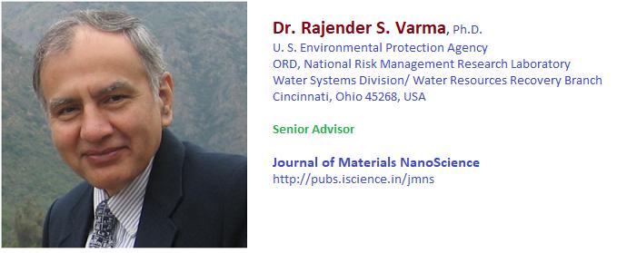 Dr RS Varma senior scientist epa